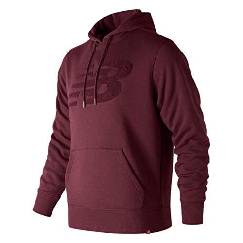 Balance Bordeaux shirt Mt83568 New Homme Sweat SwqdPq7Tx