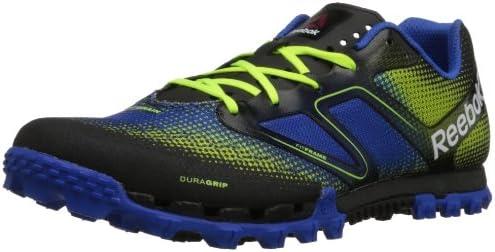Reebok All Terrain Super Tenis para Correr para Hombre, Amarillo (Neon Yellow/Black/Vital Blue/White/China Red), 47 EU: Amazon.es: Zapatos y complementos