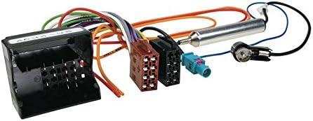 Acv 1041 – 45 Radio Cable de conexión ISO para Peugeot/Citröen (Conector de Antena)