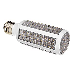 E27 7-8W 168-LED 450-550LM 2700-3500K Warm White Light LED Corn Light (220-240V)