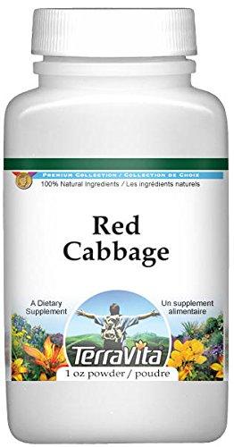 Red Cabbage Powder (1 oz, ZIN: 519447)