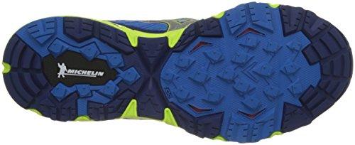safetyyellow directoireblue Multicolor Mujin Hombre Para silver Running Mizuno De Zapatillas Wave CxwfSFv