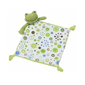 Maison chic boy blankie frog baby plush for Maison chic revue