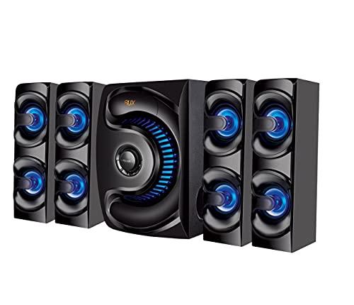 Lisburn Home Theatre LB-6023 Heavy Bass with 50 Watt Multimedia Speaker 15000 PMPO/Heavy Remote/USB/AUX/FM