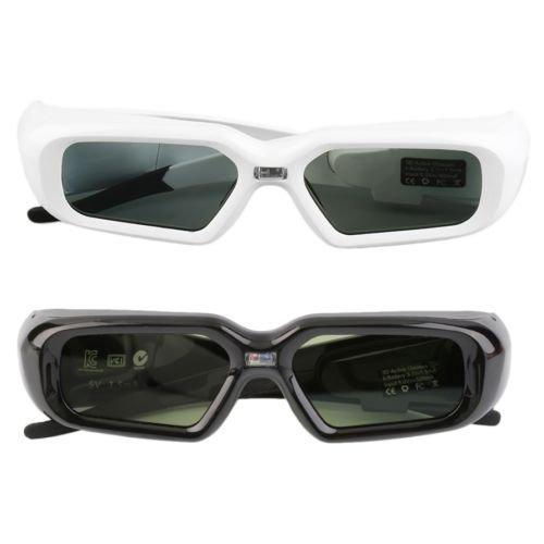 Alicenter(TM) Active Shutter Glasses 3D Glasses 144Hz For DLP-LINK 3D Ready Projector H by Alicenter