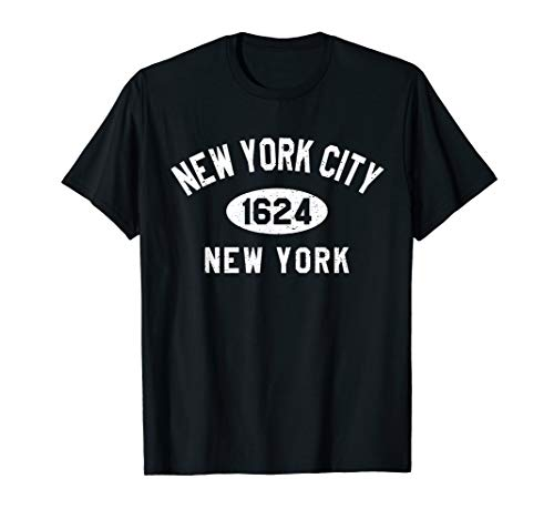 New York City NYC Founded 1624 Men Women Kids Souvenir Gifts T-Shirt (Best Nyc Metro App)