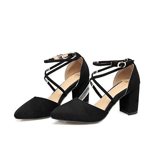 generc - Strap alla caviglia donna, nero (Black), 43 EU