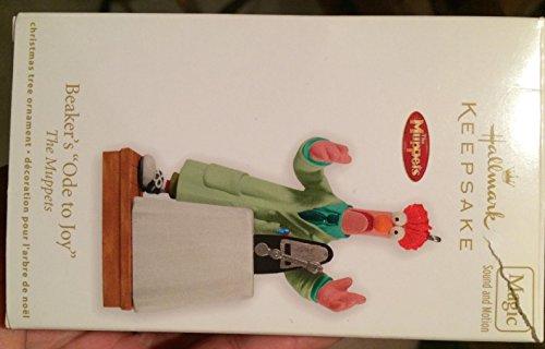 QXI2167 Beaker's Ode To Joy The Muppets 2011 Hallmark Keepsake Magic Ornament]()