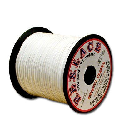 Rexlace Plastic Lace (Springfield Leather Company's Rexlace White Plastic Lace)