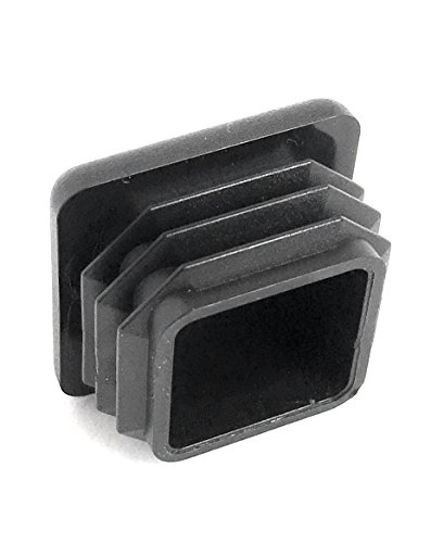 (100 Pack) (14-20 GA) Square Plastic Polyethylene Plug 1''x 1'' by Brewdogsupplies (Image #5)