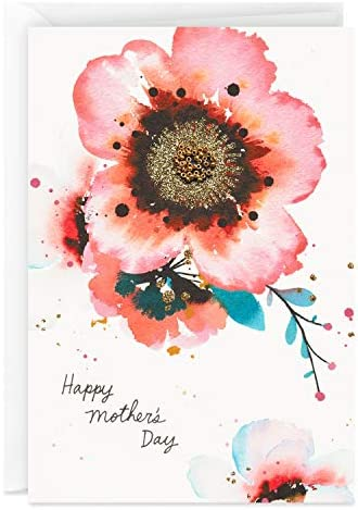Hallmark Signature Mother's Day Card (Watercolor Flowers)