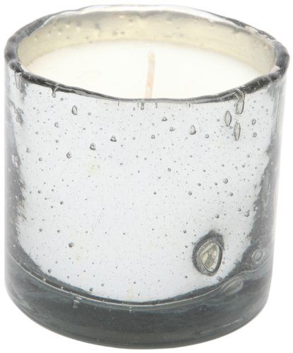 Himalayan Candles Mercury Glass Soy Candle Tumbler, Tobacco Bark, 13-Ounce - Bark Glass