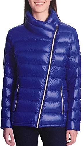 - DKNY Women's Ultralight Down Puffer Jacket (Blue, M)