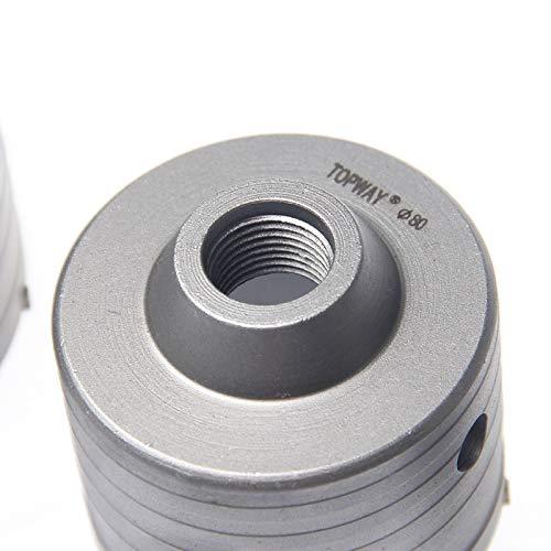 SDS MAX Plus Brick TCT. Juego de brocas para perforar agujeros de hormig/ón 122592 9 piezas