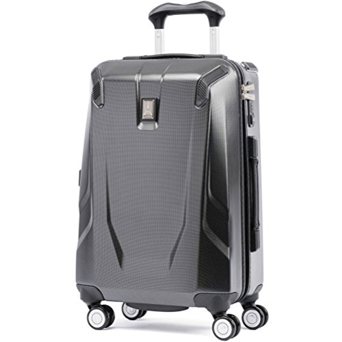 Travelpro Luggage Crew 11 21' Carry-on Slim Hardside Spinner w/USB Port, Carbon Grey