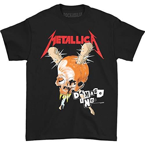 Metallica Men's Damage Inc. Tour T-shirt Small Black