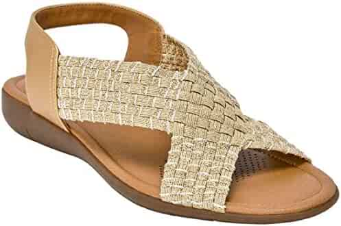 6f86d08b0 Comfortview Women s Plus Size The Celestia Sling Sandal