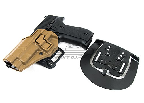 Blackhawk Cf Holster W/ Bl & Paddle LH, for Sig 220/226