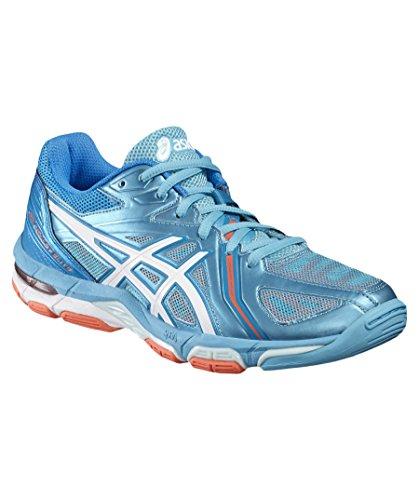 silver hot Coral 2016 Gel Asics Shoes volley 3 Hellblau Elite White 299 X8wY0