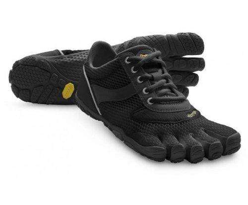 Vibram FiveFingers Speed Running Shoes - 12 - Black