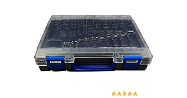 Rose vacía la caja de herramientas de plástico de 170 coronas de perforación con la bandeja de reparto: Amazon.es: Bricolaje y herramientas