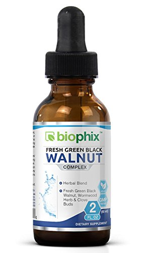 Biophix Fresh Green Black Walnut Extract 60 ml 2 oz - Black Walnut Drops