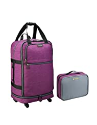 "Biaggi Zipsak 31"" Microfold Upright (Purple)"