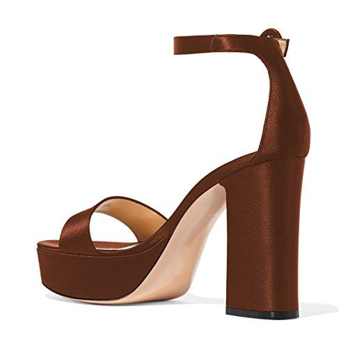 Sandalo con cinturino nerobeige stile casual Donna Taglia IT 41 Calzature donna