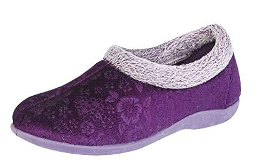 Sleepers Chaussons Violet pour Sleepers Chaussons pour Femme Violet Femme AWHIn8q4