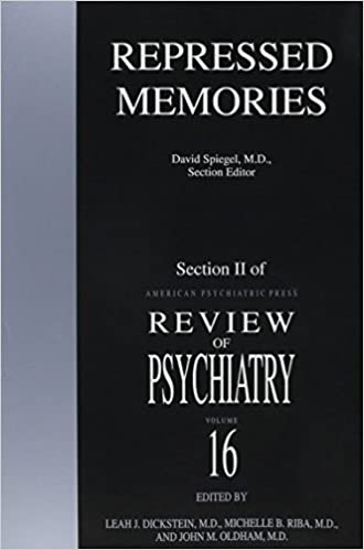 Book Repressed Memories (American Psychiatric Press Review of Psychiatry) by David Spiegel (1997-08-01)