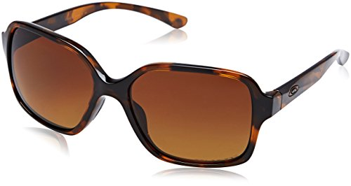 Oakley Womens Proxy Polarized Sunglasses, Tortoise/Brown Gradient, One Size by Oakley