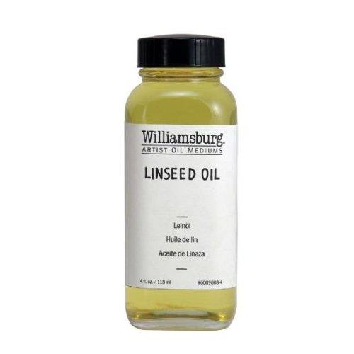Williamsburg 6009003-4 4Oz Lein-l Flasche