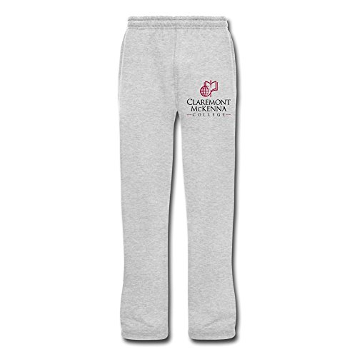 [TIANYI Men Claremont Mckenna College Cotton Sweat Pants] (Cheerleader Outfit For Sale)