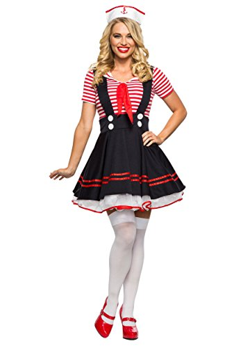 Seeing Red Women's Retro Sailor Girl Costume X-Large by Seeing Red