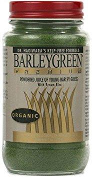 Barley Green Caplets - Dr. Hagiwara's BarleyGreen Premium without Kelp (Endorsed by Dr. Lorraine Day M.D.) by YH International - 7oz. Powder