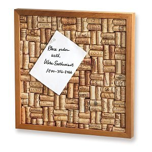 Wine Enthusiast Cork Board Kit
