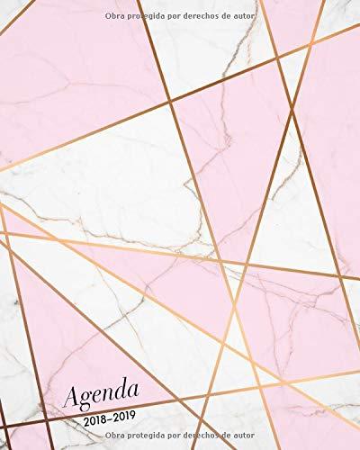 2018-2019: Agenda semanal 20 x 25cm, Perfecto para anotar ...