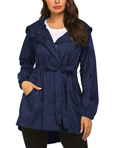 Doreyi Packable Lightweight Outdoor Raincoat,Hiking Travel Cycling Jackets