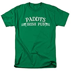 If you can't drink at your favorite TV bar, you can at least wear its shirt. This Paddy's Irish Pub shirt is perfect for everyone who wishes they could be in It's Always Sunny In Philadelphia. In addition, you'll receive two exclusive die-cut...