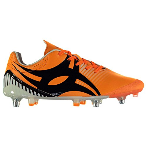 Gilbert Mens Ignite Fly Rugby Boots Orange 9 (43)