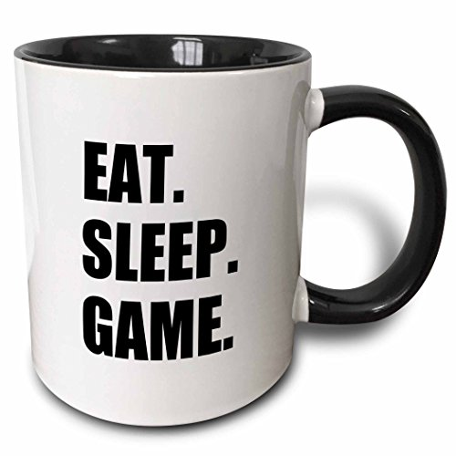 3dRose Eat Sleep Game mug 180406 4