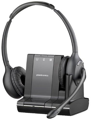 Plantronics PL-84004-01 Savi W720m Multidevice Headset Landline Telephone Accessory by Plantronics