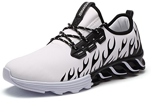 Inniuquma store Running Shoes For Outdoor Comfortable Men Mesh Athletic Shoes Lace-up Walking Sneakers Men Breathable Sport - Store Mills Arundel