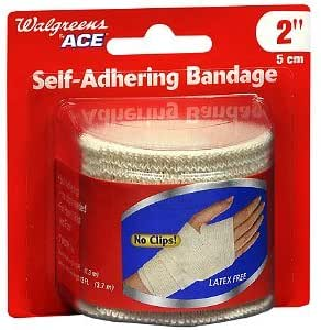 Amazon Com Walgreens Ace Self Adhering Bandage 2 Inch 1 Ea