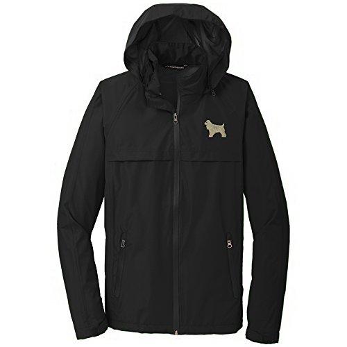 (Cocker Spaniel Buff Men's Rain Jacket)