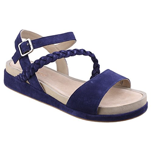 Hush Puppies Women's Giovanna Chrysta Ankle Strap Sandals Royal Navy Suede EpDhE