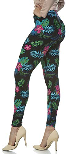 Aloha Pants - LMB | Lush Moda | Women's Extra Soft Leggings | Variety of Prints | One Size | Aloha