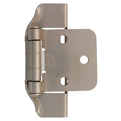 LIBERTY H01915C-SN-O 1/2-Inch Semi-Wrap Overlay Hinge  sc 1 st  Amazon.com & LIBERTY H01915C-SN-O 1/2-Inch Semi-Wrap Overlay Hinge - Cabinet And ...