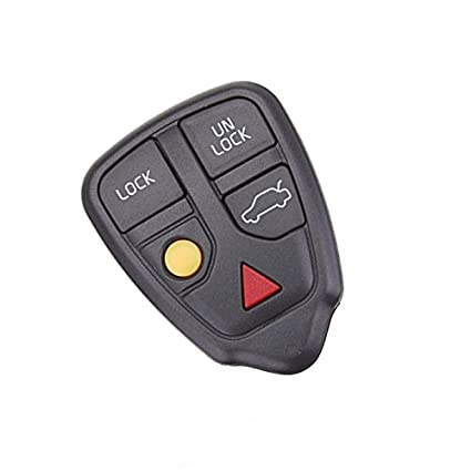 NEW VOLVO S40 V40 C70 S70 SHELL 4 BUTTON REPLACEMENT KIT SHELL REMOTE REPAIR