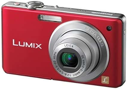 Panasonic Lumix Dmc Fs6 Digitalkamera 2 5 Zoll Rot Kamera